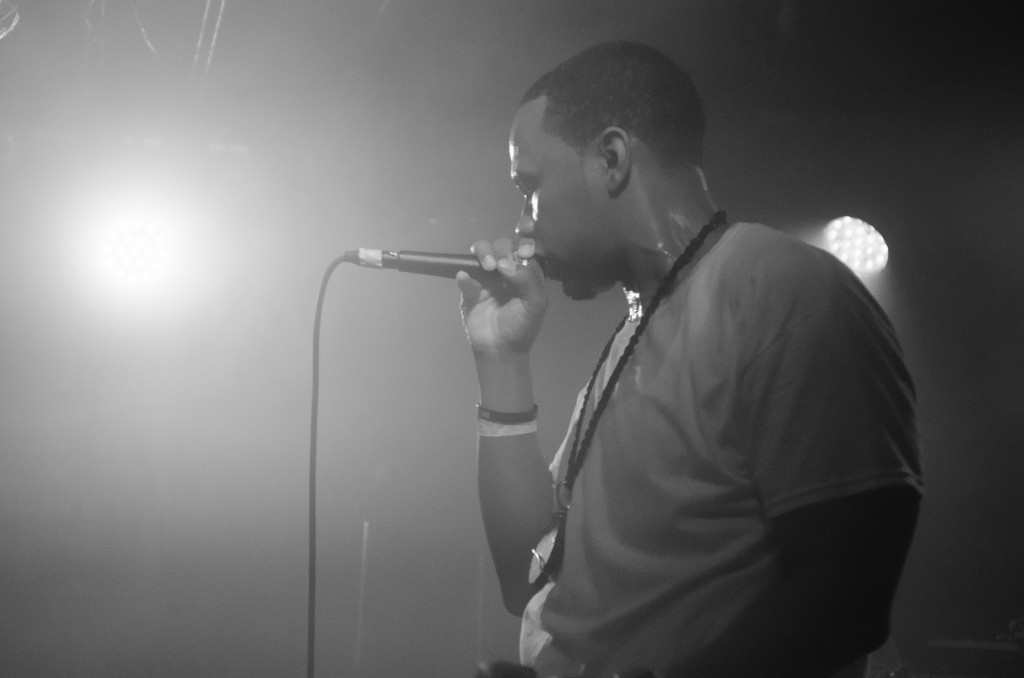 MaLLy performing at the 7th Street Entry in Minneapolis on April 18th. Photo courtesy Thomas Perowitz Photography.