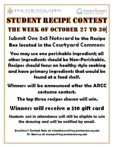 pic 2014 recipe contest