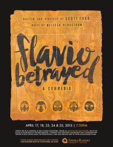 COMING SOON: ARCC's Spring play is written and directed by our own Professor Scott Ford!