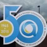 ARCC's 50th anniversary commemorative logo. Photo Credit: Laura Mattison