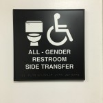 "The new ""all-gender"" bathrooms throughout ARCC campus."
