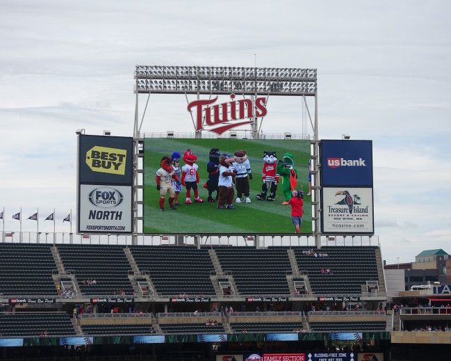 The Campus Eye Reports from the Minnesota Twins' Press Box!
