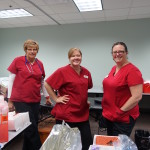 Nurses waited patiently for volunteers to show up to donate blood at the blood drive. Photo Credit: Savannah Johnson