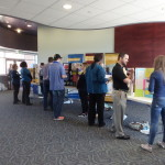 The OSCARS event showcased undergraduate research projects in the spring of 2016. Photo Credit: Laura Mattison