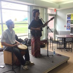 Jay keeps with beat with her drummer while performing. Photo Credit: Maiya Fair