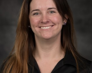 Featured here is veteran Tegan Griffith.  Photo courtesy of University of Wisconsin - Stevens Point.